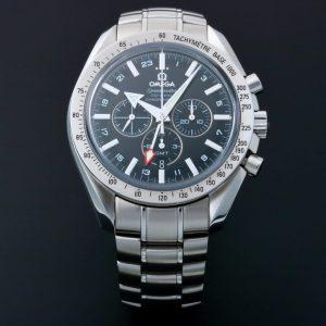 Omega Speedmaster Broad Arrow GMT Watch 3581.50 - Baer Bosch Auctioneers