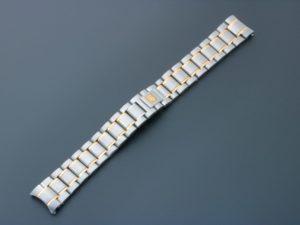 3862A Omega Speedmaster Tutone Watch Bracelet 18MM 1560 852 - Baer Bosch Auctioneers