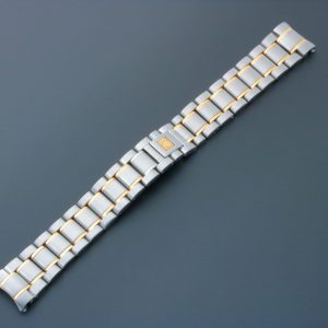 3862A Omega Speedmaster Tutone Watch Bracelet 18MM 1560 852 - Baer Bosch Auctioneers