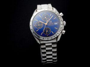Omega Speedmaster Date Cobalt Blue Watch 3511.81 - Baer Bosch Auctioneers