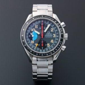 Omega Speedmaster Triple Calendar Mark 40 AM PM Watch 3520.53 - Baer Bosch Auctioneers