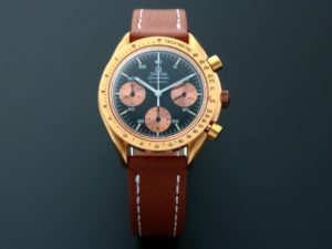 Rose Pink Gold Omega Speedmaster Watch 3613.50 - Baer Bosch Auctioneers