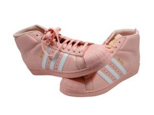 Lot #4000 – Adidas High Tops Pink