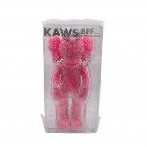 KAWS BFF Vinyl Pink
