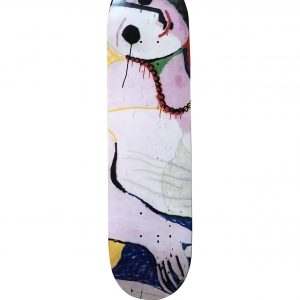 Madsaki Le Reve 2 Skateboard Skate Deck Signed - Baer & Bosch Auctioneers