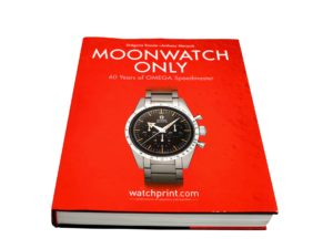 Moonwatch Only 60 Years of Omega Speedmaster Book by Anthony Marquie and Gregoire Rossier - Baer Bosch Auctioneers