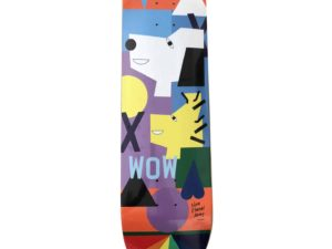 Nina Chanel Abney x Peanuts Skateboard Skate Deck - Baer & Bosch Auctioneers