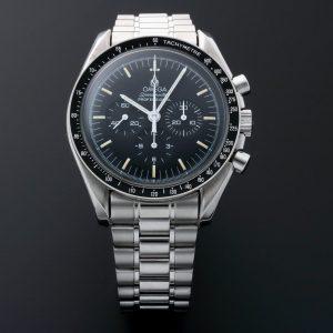 Omega Speedmaster Apollo 11 Moon Skeleton Case Back Watch 3592.50.00 - Baer & Bosch Auctioneers