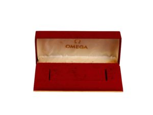 Omega Vintage Red Watch Box - Baer Bosch Auctioneers