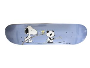 Rob Pruitt x Peanuts Skateboard Skate Deck - Baer & Bosch Auctioneers