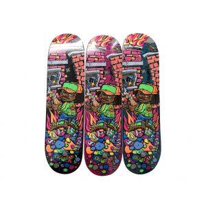 Supreme Molotov Kid Skateboard Skate Deck Set - Baer & Bosch Auctioneers