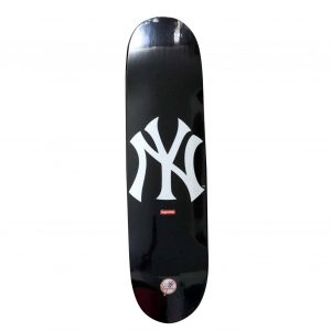 Supreme x New York Yankees Skateboard Skate Deck - Baer & Bosch Auctioneers