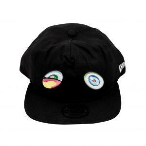 Takashi Murakami x ComplexCon Black Cap Eyes