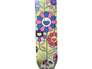 Takashi Murakami x ComplexCon Flower Cluster Eden Skateboard Skate Deck- Baer & Bosch Auctioneers