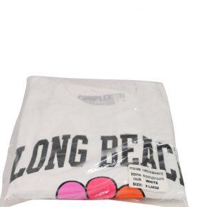 Takashi Murakami x ComplexCon Flower Long Beach Tee White XL- Baer & Bosch Auctioneers