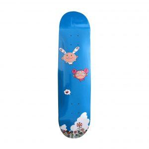 Takashi Murakami x Kaikai Kiki Cloud Flying in the Sky Skateboard Skate Deck - Baer & Bosch Auctioneers