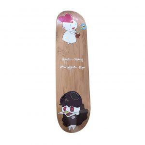 Takashi Murakami x Kaikai Kiki Iikoto-chang Waruikoto Skateboard Skate Deck - Baer & Bosch Auctioneers