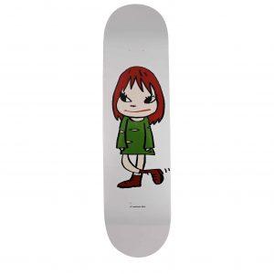 Yoshitomo Nara Welcome Girl Skateboard Skate Deck - Baer & Bosch Auctioneers