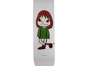 Yoshitomo Nara Welcome Girl Skateboard Skate Deck - Baer & Bosch Auctioneers