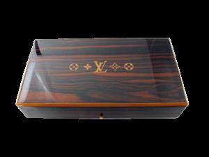 Rare Louis Vuitton Travel Cigar Humidor