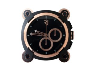 Romain Jerome Moon Invader Red Metal Dealer Clock X.POS.028 - Baer Bosch Auctioneers