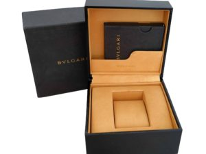 Bvlgari Watch Box - Baer Bosch Auctioneers
