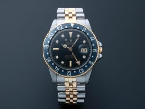 Rolex GMT Master Tutone Diamond Watch 16753 - Baer & Bosch Auctioneers