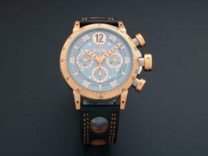B.R.M. Chronograph Tutone Watch V8-44-GT-5N-CG - Baer & Bosch Auctioneers