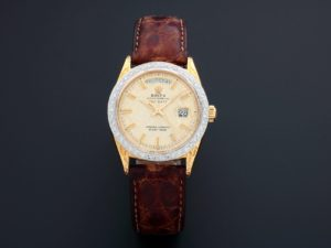 Rolex Day-Date President Watch 18k Yellow Gold 1807 - Baer & Bosch Auctioneers