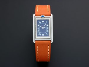 Rare Limited Edition Cartier Tank Basculante Mechanical Watch 2390 - Baer & Bosch Auctioneers
