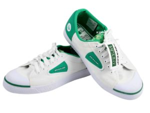 Dunlop Green Flash Sneakers Size Euro 43 - Baer Bosch Auctionee