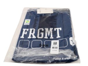 Fragment x Converse T-Shirt Blue XL - Baer Bosch Auctionee