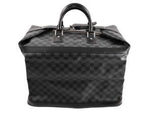 Louis Vuitton Grimaud Damier Graphite Canvas Leather Bag N41160 - Baer Bosch Auctionee