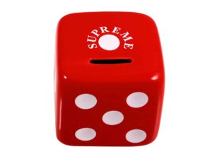 Supreme Dice Ceramic Bank - Baer Bosch Auctionee