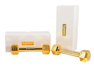 Supreme Dumbbell Gold Plated Set of 2 - Baer Bosch Auctionee