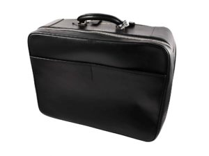 Valextra Avietta 48 Hour Travel Bag Black Leather - Baer Bosch Auctionee
