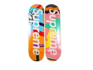 Alessandro Mendini x Supreme Skateboard Deck Set - Baer & Bosch Auctioneers