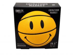 Chinatown Market Smiley Basketball Yellow