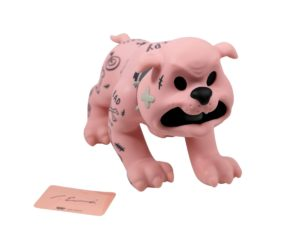 Cote Escriva Creepy Dog Pink