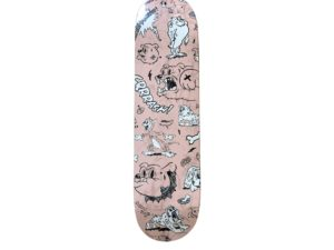 Cote Escriva Creepy Dog Skateboard Skate Deck - Baer & Bosch Auctioneers