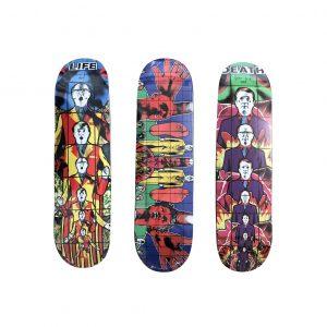 Gilbert & George x Supreme Skateboard Skate Deck Set - Baer & Bosch Auctioneers