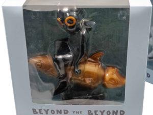 Hebru Brantley Flyboy Gold Black - Baer & Bosch Auctioneers