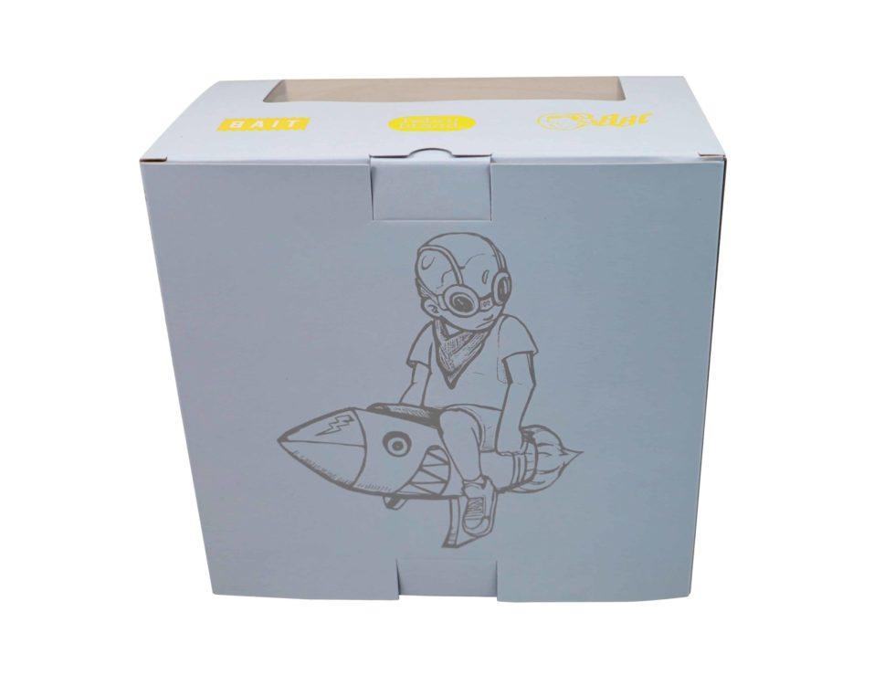 Hebru Brantley Flyboy Set Sepia Black White Gold Grey Volt