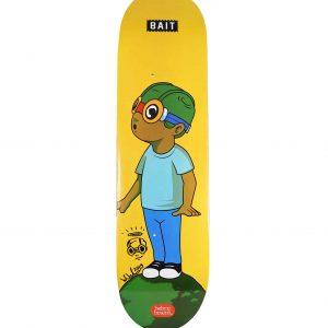 Hebru Brantley x Bait Fly Boy Skateboard Skate Deck Signed - Baer & Bosch Auctioneers