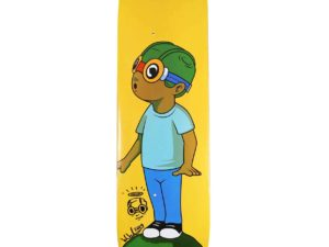 Hebru Brantley x Bait Fly Boy Skateboard Skate Deck Signed - Baer & Bosch Auctioneers