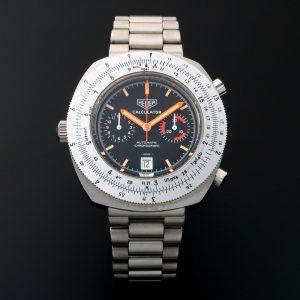 Heuer Calculator Chronograph Watch 110.633N - Baer & Bosch Auctioneers