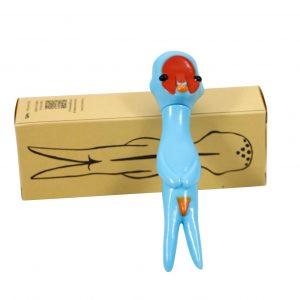 Izumi Kato x Hara Museum x Linden Toy Soft Vinyl Sculpture Blue - Baer & Bosch Auctioneers
