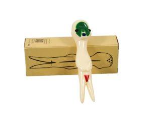 Izumi Kato x Hara Museum x Linden Toy Soft Vinyl Sculpture White - Baer & Bosch Auctioneers