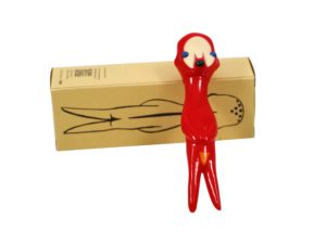 Izumi Kato x Perrotin x Linden Toy Soft Vinyl Sculpture Red - Baer & Bosch Auctioneers