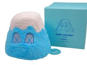 KAWS Holiday Japan Mount Fuji Plush Blue - Baer & Bosch Auctioneers